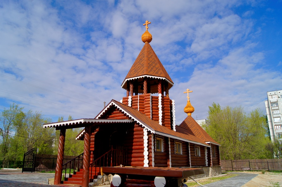 В Волгограде освящен древлеправославный храм в честь святого Архангела Михаила