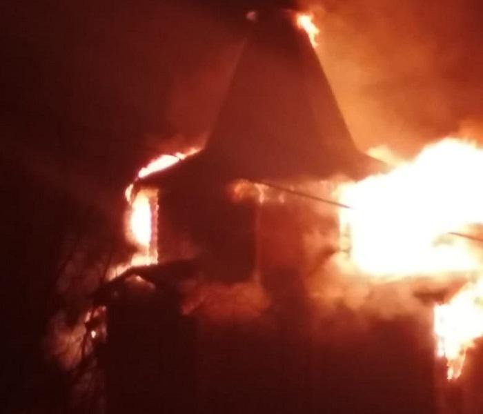 Пожар в старообрядческом храме