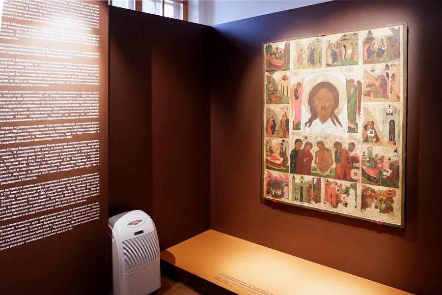 Загадочная ярославская икона представлена в музее им. Андрея Рублева