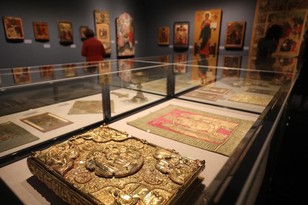 Выставка «Небесный Нижний. Святые исвятыни Нижегородской земли» открылась встолице Приволжья