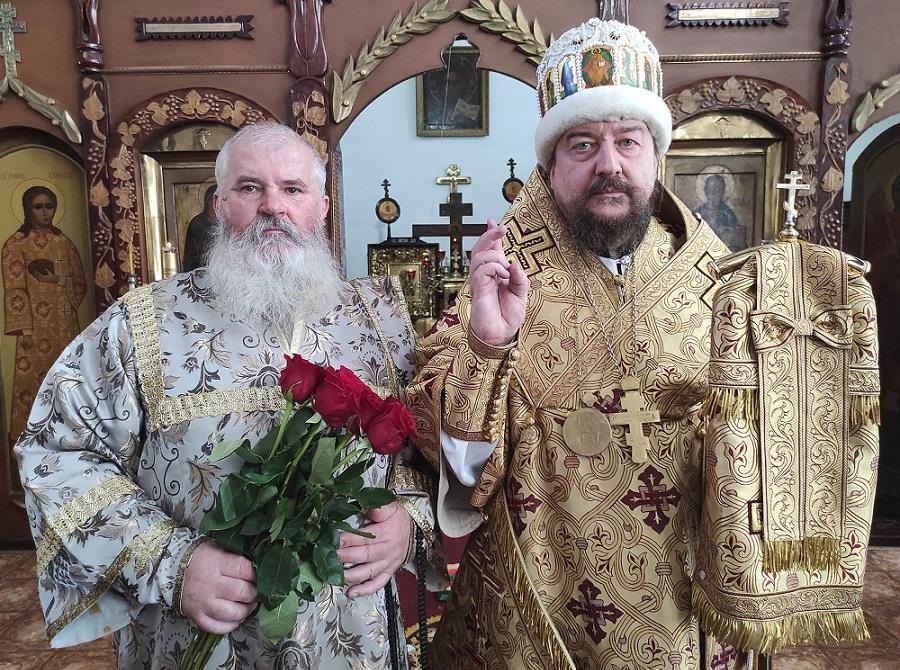 Владыка Никодим и Валерий Золотарев